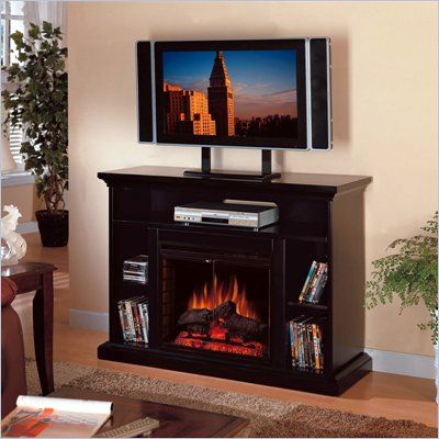 Tv stands and Electric fireplace media center