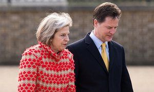 Nick Clegg: parliament must vote on terms of deal to leave EU Former deputy PM says government has a mandate to take Britain out of EU, but not on how to do it