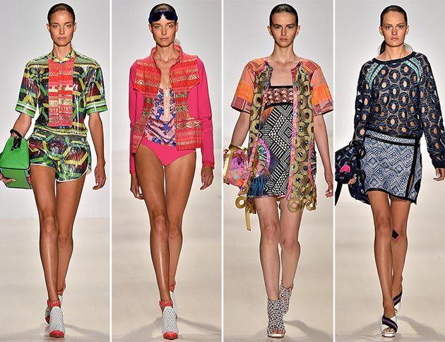Custo Barcelona Spring Summer  Collection New York Fashion Week