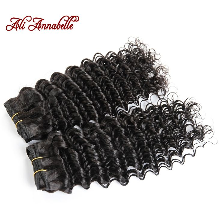94.69$  Watch here - http://dij01.justgood.pw/ali/go.php?t=32367255779 - 8A Hair Brazilian unprocessed Virgin Hair deep wave 3pcs lot Human Hair Extension 1B Natual color 12'' to 28'' hair weave 94.69$