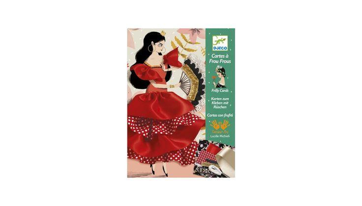 Flamenco bodros-fodros varrószett - Djeco design by