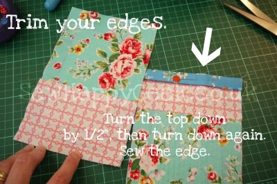 quilted phone holder tutorial 5