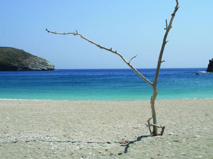 Andros alternative resort at Andros Island Greece, Achla Beach
