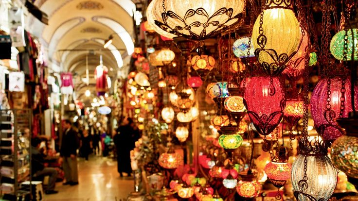 Grand Bazaar - The Grand Bazaar is a massive covered market which takes up a whole city quarter, and is home to 60 streets and 5,000 shops