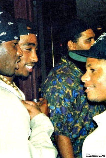 Тупак и Eazy-E  #2pac #news #tupacshakur #music #rap #hiphop #eazye