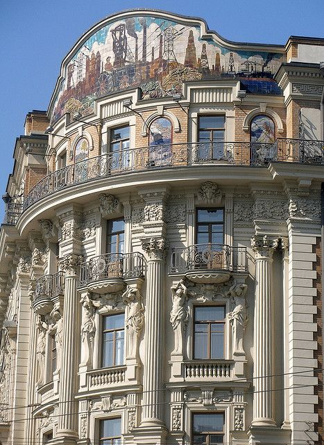 Hotel National, Moscow, 1903. Architect, Alexander Ivanov.