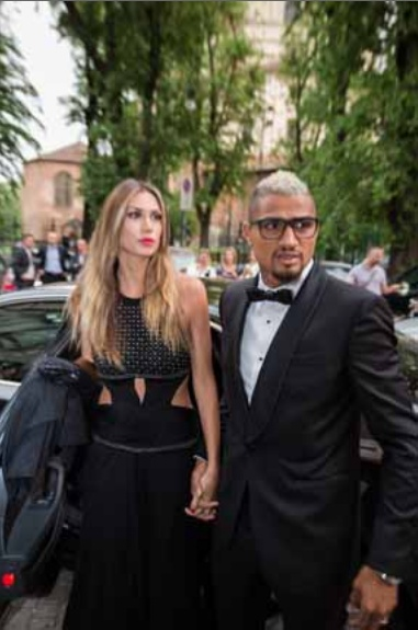 Satta and Boateng at Menaye Donkor's FundRaiser