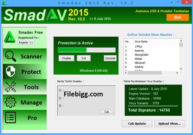 Free Download Software Smadav 2015 Rev 10.2 - filebigg.com