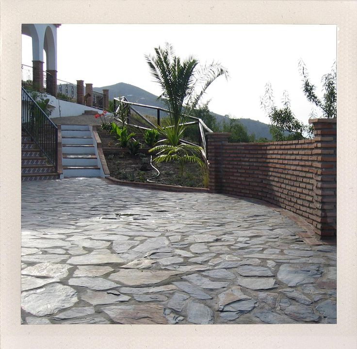 17 Best Images About DRIVEWAYS-RETAINING WALLS On