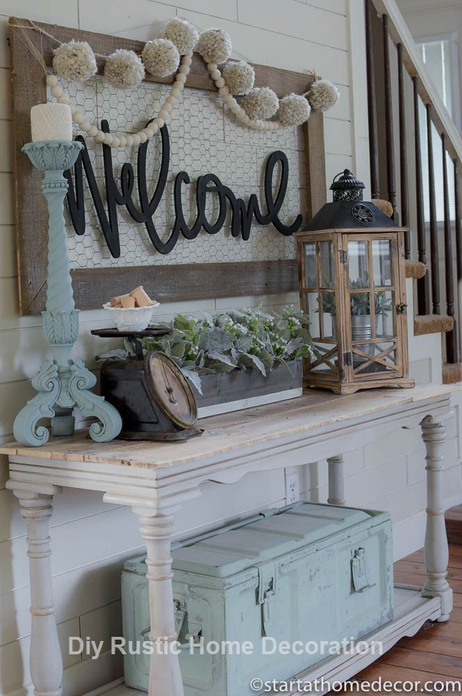 20 Incredible Hacks for Rustic Home Decor