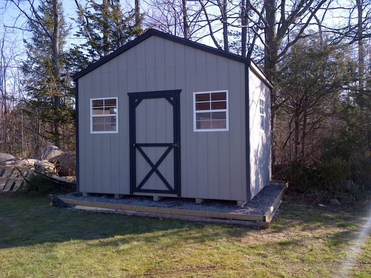 fully assembled sheds 1