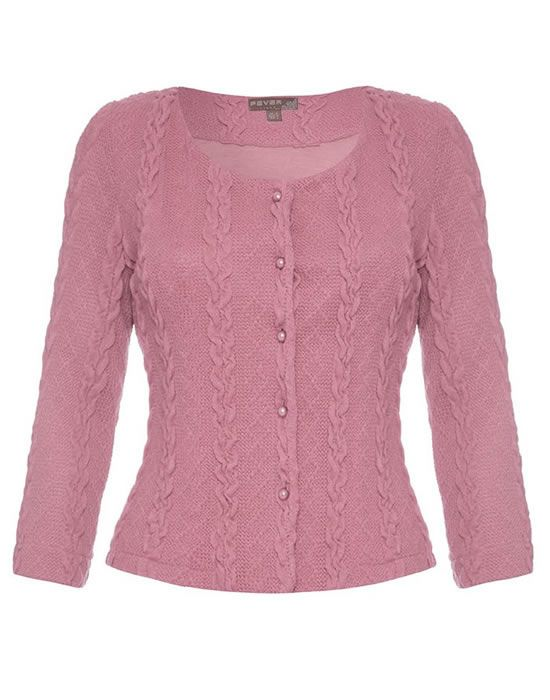 Fever Bray cardigan, dusty pink