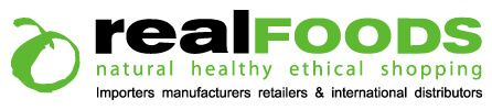 Real Foods Online Vegetarian, Organic, Wholefoods, Fairtrade, Vegan, Gluten Free, Wheat Free & Special Diet Shop