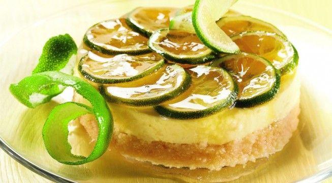 Cheesecake al lime e ricotta | Alice.tv