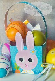 MAMMAger: Il cestino per i dolcetti del Coniglio di Pasqua (scarica il PDF)