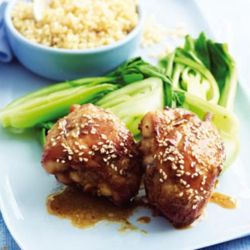 Sticky chicken legs