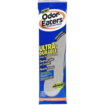 Odor Eaters One Size Fits All Ultra-Durable Odor-Destroying Insoles -2 count (Quantity of 3) by Unknown. $29.99