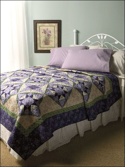 Zoi's VioletsQuilt Download, Quilt Projects, Quilt Ideas, Purple Quilt, Quilt Favorite, Zoi S Violets, Beds Quilt, Zoi Violets, Quilt Pattern