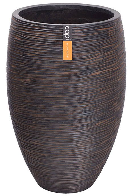 Capi Nature - Ribbed Pots and Planters for the Garden and Home - Cadix UK
