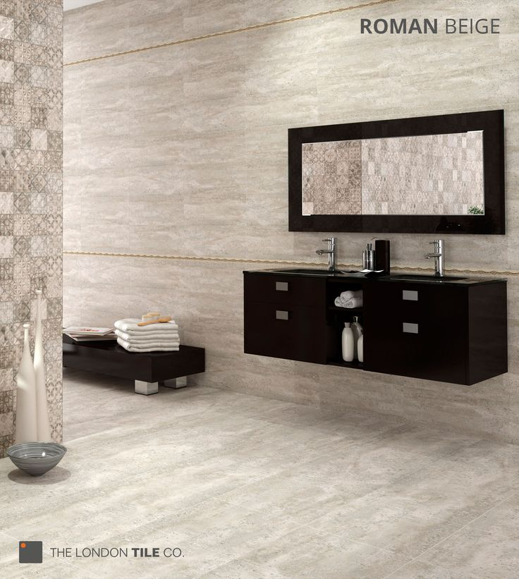 New Roman Matching Wall Floor Tiles Available In Beige Grey