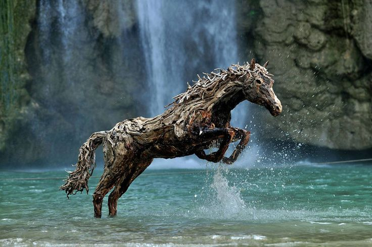 Driftwood Horse - James Doran Webb