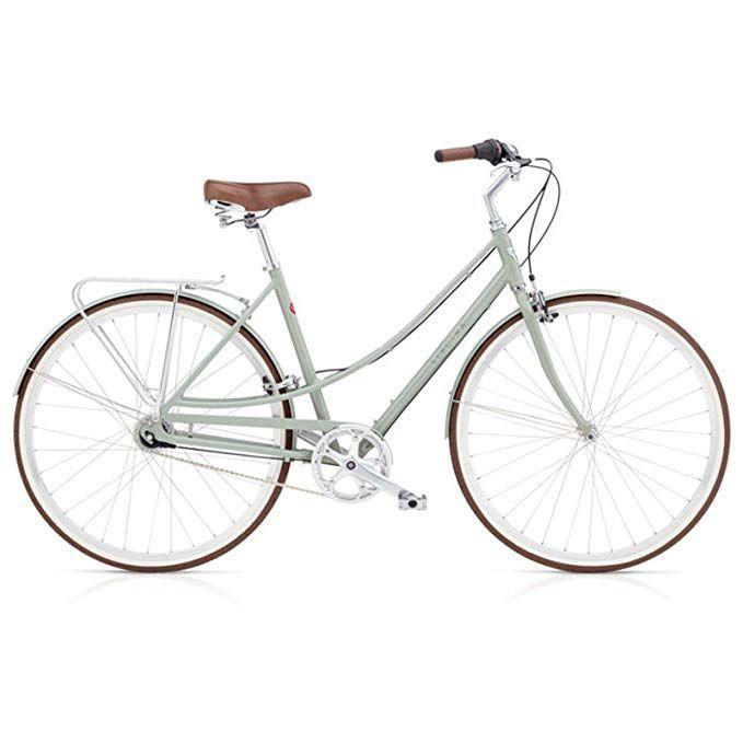 Electra Loft 7i Damen Fahrrad Regular Grun Grau Stadt Rad Alu
