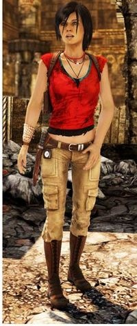 If I ever had to pick a cosplay character for myself, Chloe Frazer from Uncharted 2 would be it.