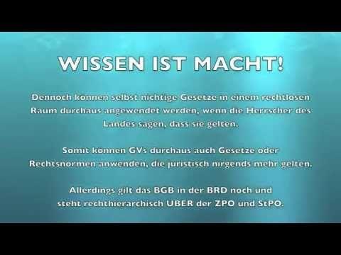 BRD GmbH - Gerichtsvollzieher Befugnisse & Ihre Rechte!