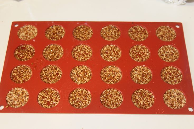 La cocina Bernard: Nougatine cordón de sésamo praliné de avellana en