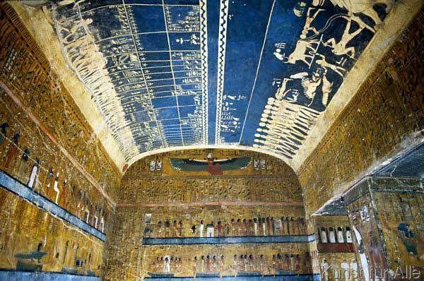 Tal der Könige - astronomische Decke