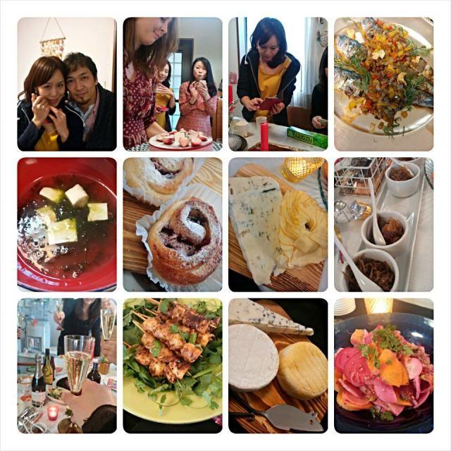 パート1   沖縄からみどりちゃん(^^)/いらっしゃ~ぁい♥  て、言うことで!志野ちゃんちでパーテーでした。ホームステイのマリーにも逢えました。ナイスタイミングです。  のりちゃんのパン ゆぅの、酒が進くん 倫子のチーズ みどりちゃんのあおさのお吸い物 麩チャンプルの写真なかった 秀~~さんのツーショット(必須) 志野ちゃんの鎌倉野菜のやつ   麩チャンプル~セクシーみどりちゃんのクッキングもみれて、食べれて最高~♥でした。      つづく - 96件のもぐもぐ - みどりちゃん♥いらっしゃ~ぁい1 by いよこ