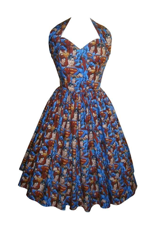 My beautiful superman dress