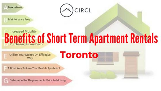 Short term apartment rentals are an awesome approach to have your own space during expanded remains in Toronto. Your short term apartment is your own particular one of a kind space to settle into. A short term rental apartment is perfect for business trip gatherings; some transient rentals even incorporate clothing administration to oblige bigger gatherings.For More info- http://circlapp.com/