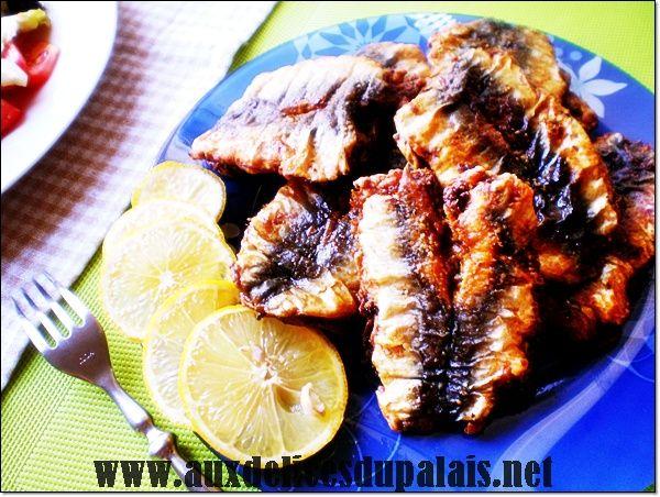 Sardines Farcies A La Chermoula / Cuisine marocaine