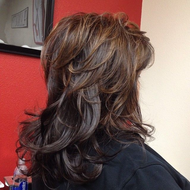 Golden Brown Base With Dark Brown Low Lights And Light