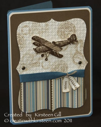 Plane and SImple card