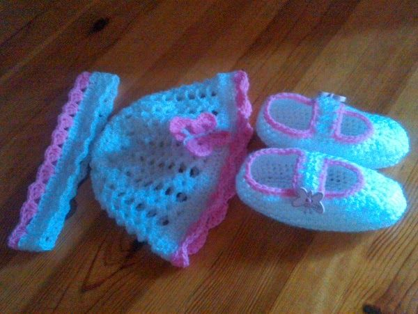 Zdenky háčkování a pletení: háčkovaný setík