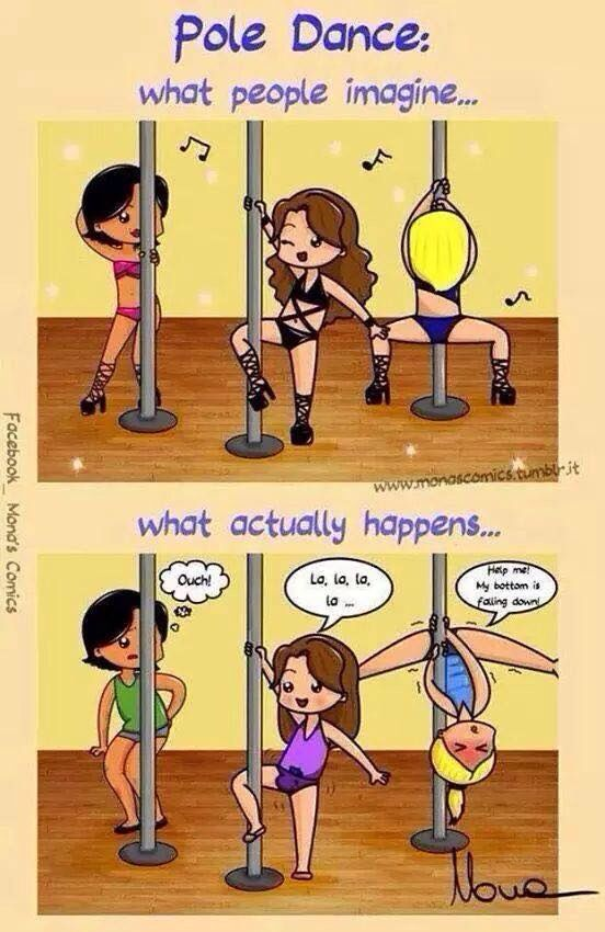 Pole #thetruth #pole #fitness #polefitness #poledance