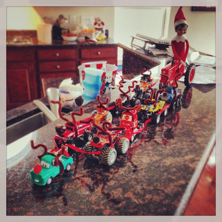 Elf on the Shelf Idea!!!
