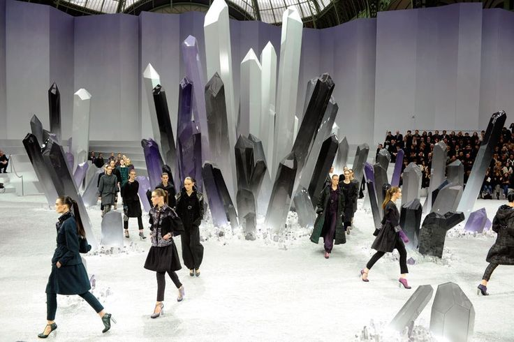 The Best Fashion Show Sets from Chanel, Louis Vuitton and More : Architectural Digest