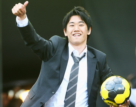 Shinji Kagawa.He is gonna be the sickest player for Manchester United!