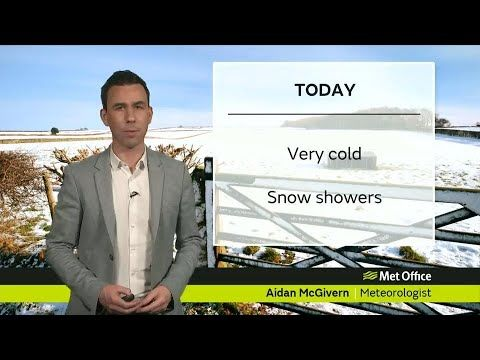Tuesday afternoon forecast 27/02/18