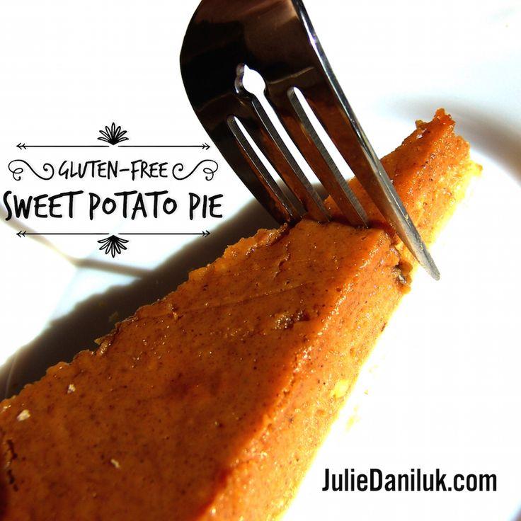 Gluten-Free Sweet Potato Pie
