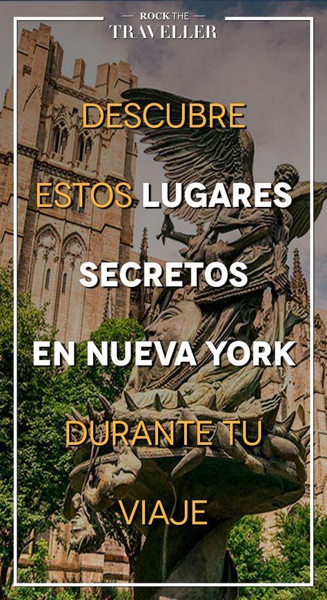 #NuevaYork es una ciudad que todo el mundo debe conocer, pero si vas a #viajar añade estos #lugares #secretos a tu lista.