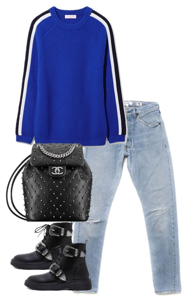 """""""Untitled #4778"""" by theeuropeancloset on Polyvore featuring Tory Burch"""