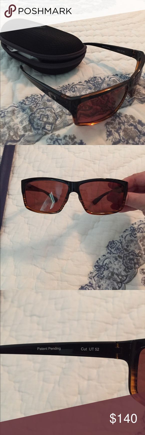 NWOT Costa Del Mar sunglasses New without tags brown polarized sunglasses! Were purchased for $205 for a gift but weren't the right style. Costa Del Mar Accessories Sunglasses