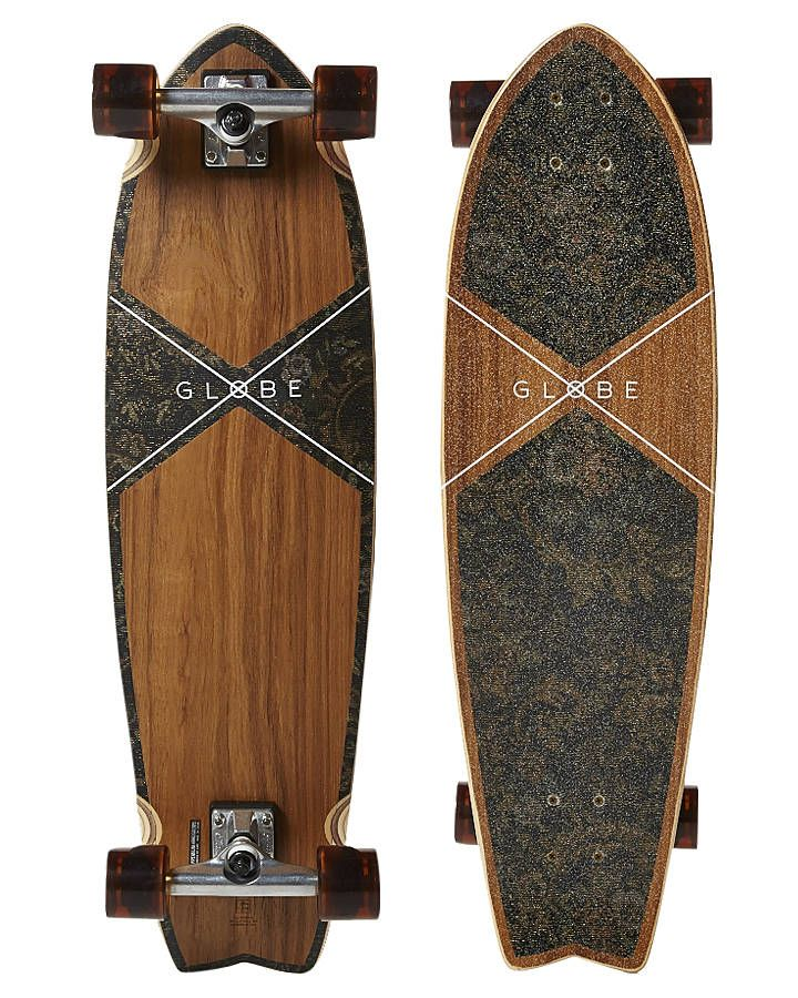 New-Globe-Skate-Chromantic-Cruiser-Skateboard-Skateboard-Skateboarding-Natural