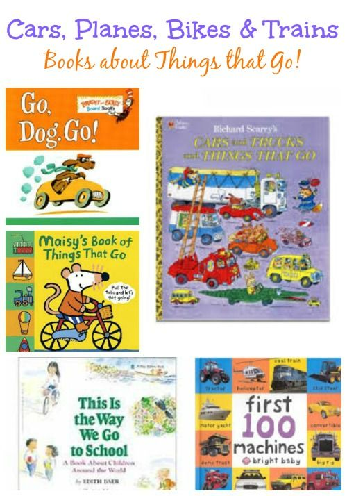 books about trains boats planes and things that go