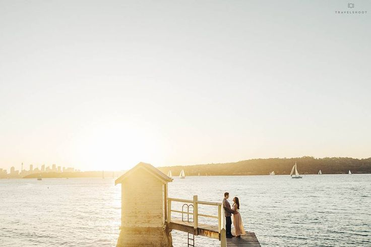 Take us to the sun drenched shoreline of gorgeous Sydney - could the day of been any better (seriously) for this gorgeous couple from New York on their recent Travelshoot...