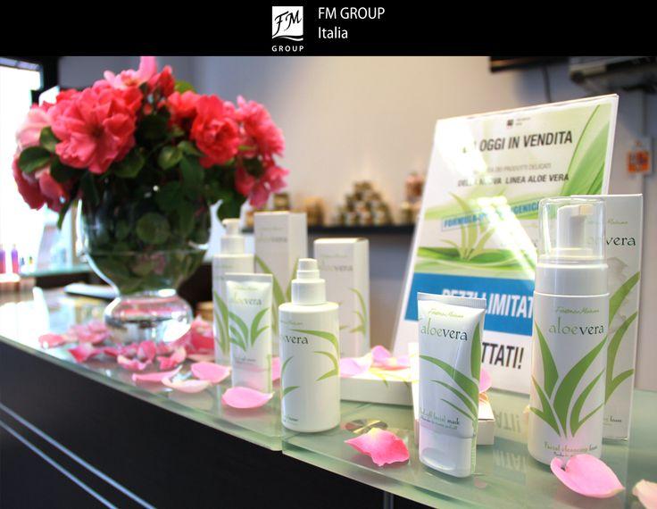 #FMGroupItalia #FMGroup #AloeVera #showroom #novità #beauty #skincare